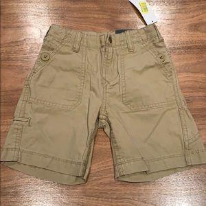 NWT boys khaki shorts by First Wave